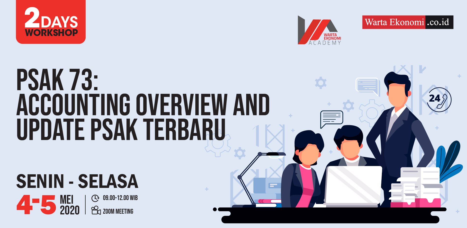 PASK 73 : Accounting Overview and Update PSAK Terbaru